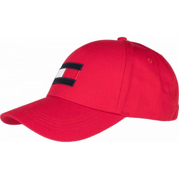 Tommy Hilfiger BIG FLAG CAP  UNI - Pánská kšiltovka