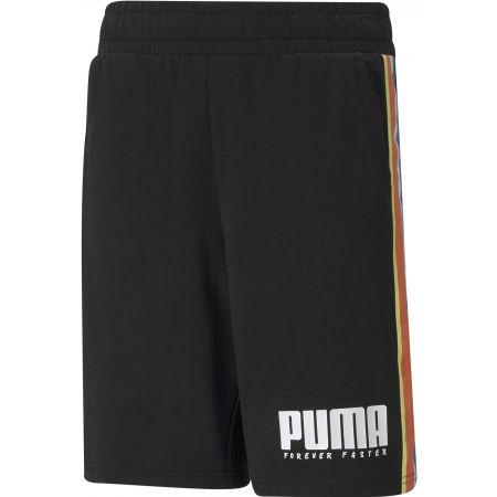 Puma ALPHA TAPE SHORTS - Chlapecké sportovní šortky