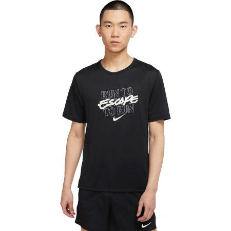 Nike DF MILER TOP SS WR GX M - Pánské běžecké tričko