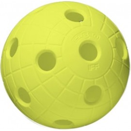 Unihoc BALL CRATER NEON YELLOW - Minge de floorball - Unihoc