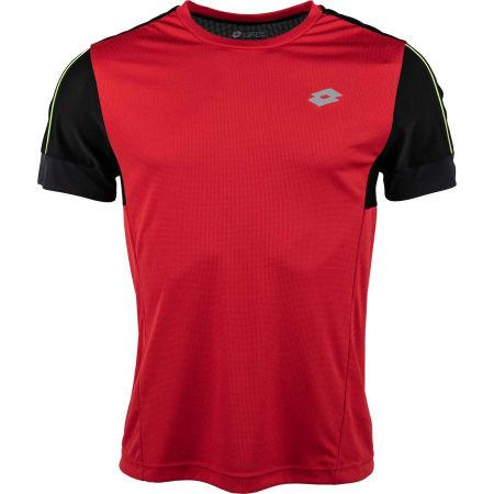 Lotto SPEEDRUN III TEE PRT PL - Pánske športové tričko