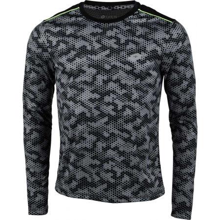 Lotto SPEEDRUN IV TEE LS PRT PL - Pánské sportovní tričko