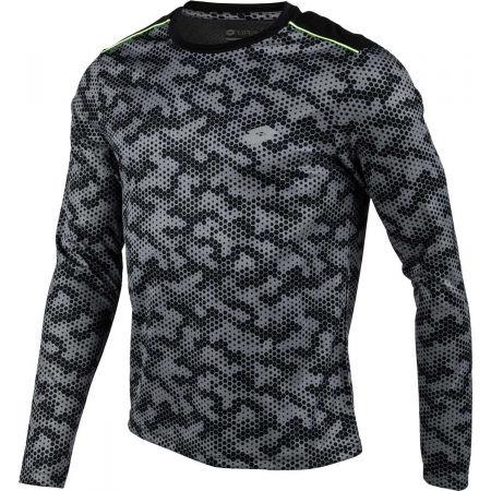 Мъжка спортна блуза - Lotto SPEEDRUN IV TEE LS PRT PL - 2