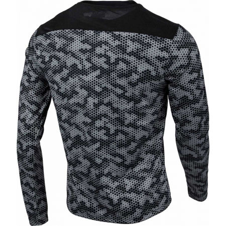 Мъжка спортна блуза - Lotto SPEEDRUN IV TEE LS PRT PL - 3