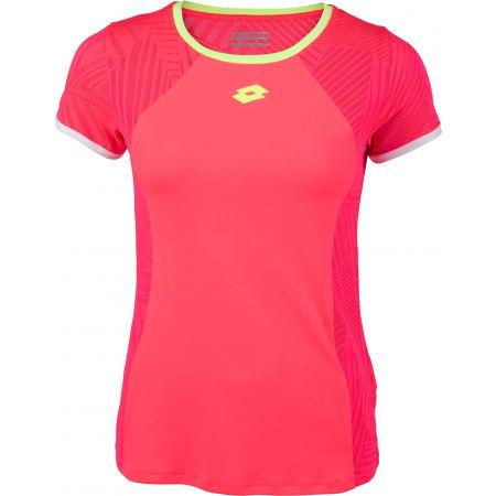Lotto SUPERRAPIDA W V TEE PL - Dámske športové tričko