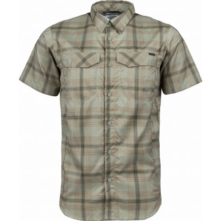 Columbia SILVER RIDGE LITE PLAID SHORT SLEEVE - Pánská košile