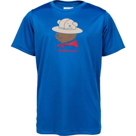 Columbia GRIZZLY GROVE SHORT SLEEVE GRAPHIC TEE - Детска тениска