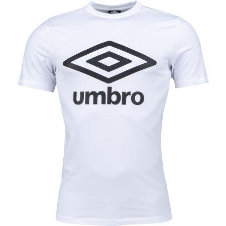 Umbro LARGE COTTON LOGO TEE - Pánske tričko