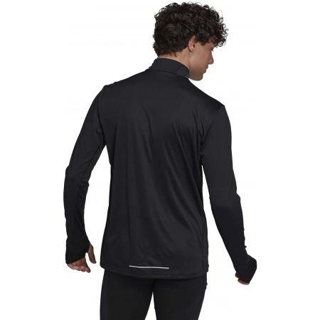 Férfi póló futásra - adidas OTR 1/2 ZIP - 4