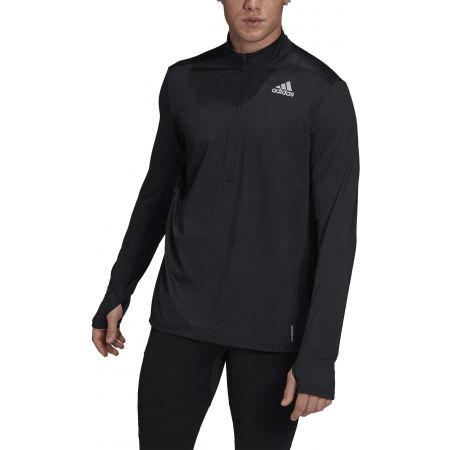 Férfi póló futásra - adidas OTR 1/2 ZIP - 2