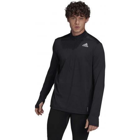 Férfi póló futásra - adidas OTR 1/2 ZIP - 3