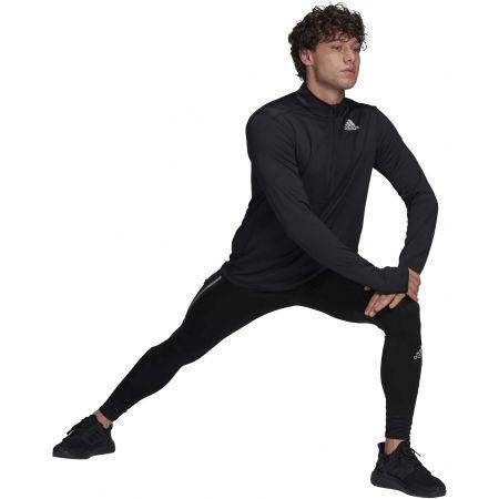 Férfi póló futásra - adidas OTR 1/2 ZIP - 5
