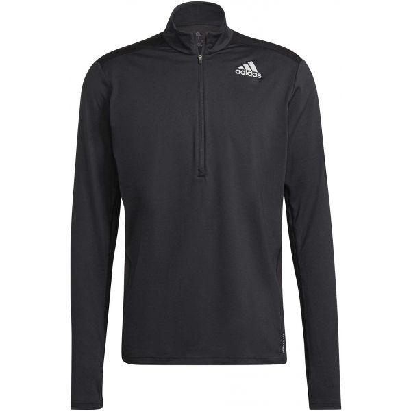 adidas OTR 1/2 ZIP  2XL - Pánske bežecké tričko