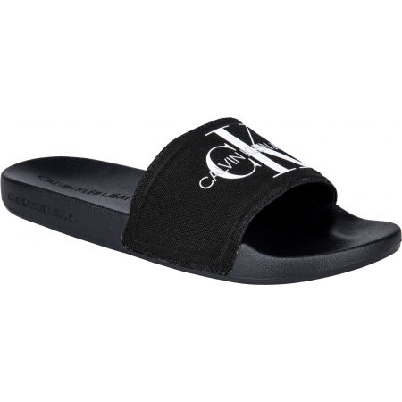Calvin Klein SLIDE MONOGRAM CO - Men's slides