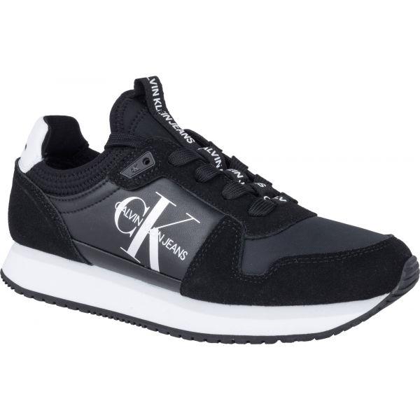 Calvin Klein RUNNER SOCK LACEUP NY-LTH  40 - Dámska obuv na voľný čas