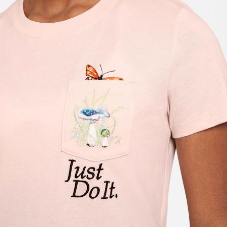 Dámské tričko - Nike NSW TEE REG SS PKT NATURE BIE W - 4