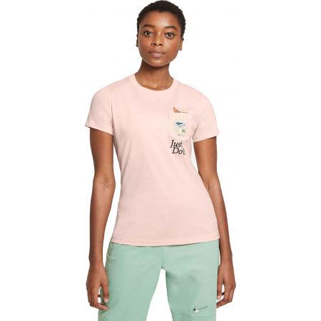 Nike NSW TEE REG SS PKT NATURE BIE W - Dámské tričko