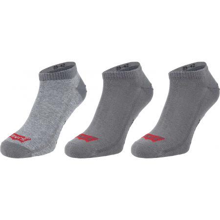 Levi's LOW CUT BATWING LOGO 3P - Чорапи