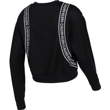 Дамски суитшърт - Calvin Klein CROPPED PULLOVER - 3