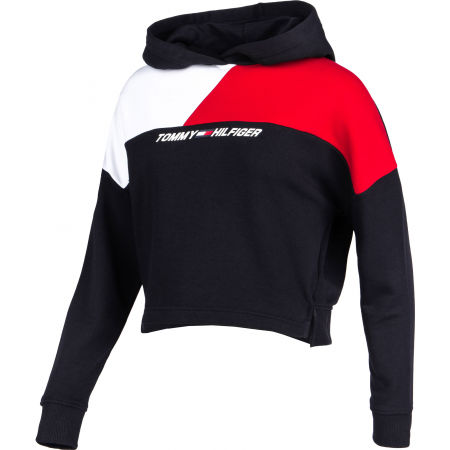 Дамски суитшърт - Tommy Hilfiger RELAXED COLOUR BLOCK HOODIE LS - 2
