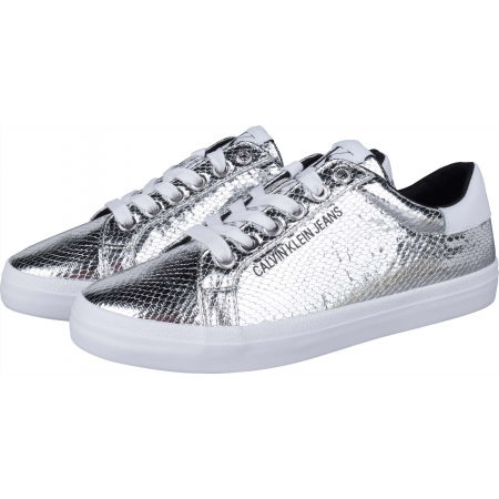Дамски кецове - Calvin Klein LOW PROFILE LACEUP PYT PES - 2