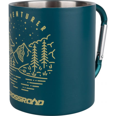 Stainless steel thermo mug - Crossroad CARA CUP - 2