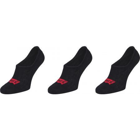 Levi's FOOTIE HIGH RISE BATWING LOGO 3P - Ponožky