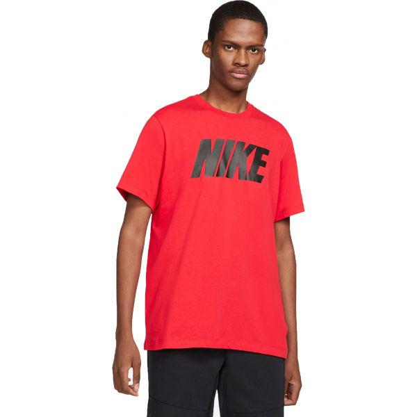 Nike NSW TEE ICON NIKE BLOCK M  2XL - Pánske tričko