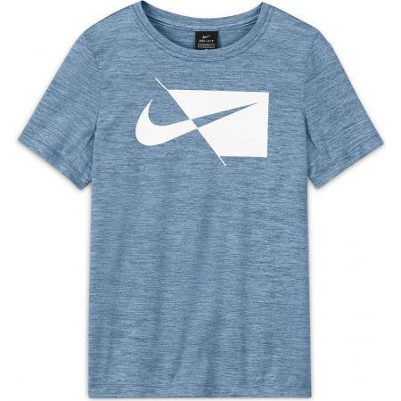 Nike DRY HBR SS TOP B - Тренировъчна тениска за момчета