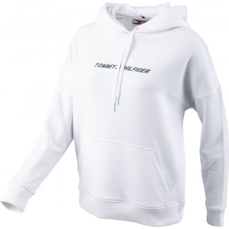 Dámska mikina - Tommy Hilfiger RELAXED GRAPHIC HOODIE LS - 2