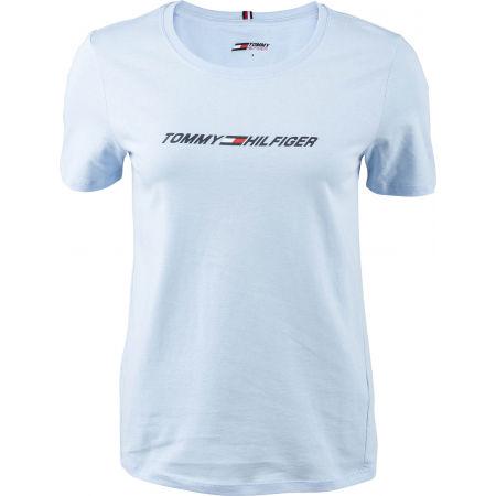 Tommy Hilfiger REGULAR C-NK GRAPHIC TEE SS - Tricou de damă
