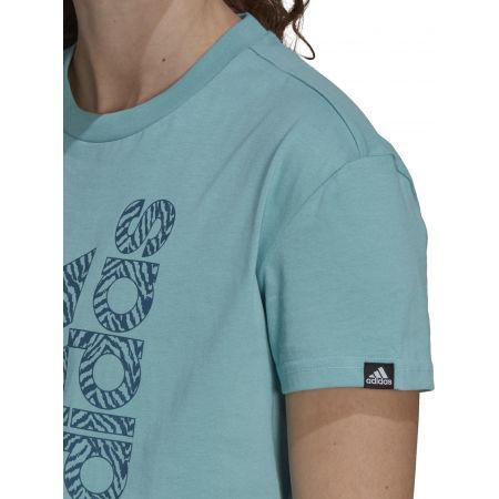 Дамска тениска - adidas VRTCL ZBR G T - 6