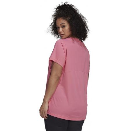 Дамска тениска plus size - adidas SL INC T - 5