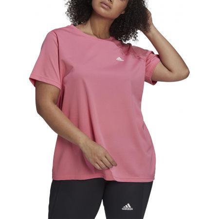 Дамска тениска plus size - adidas SL INC T - 2