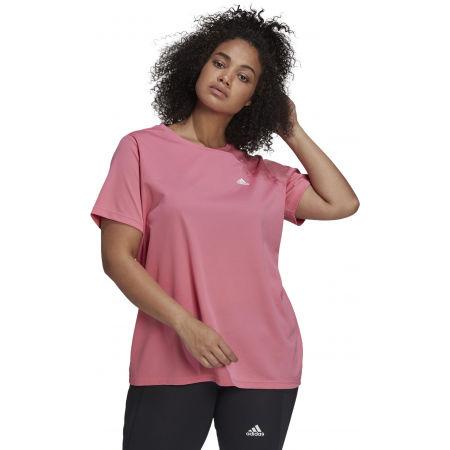 Дамска тениска plus size - adidas SL INC T - 3