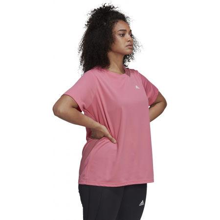 Дамска тениска plus size - adidas SL INC T - 4