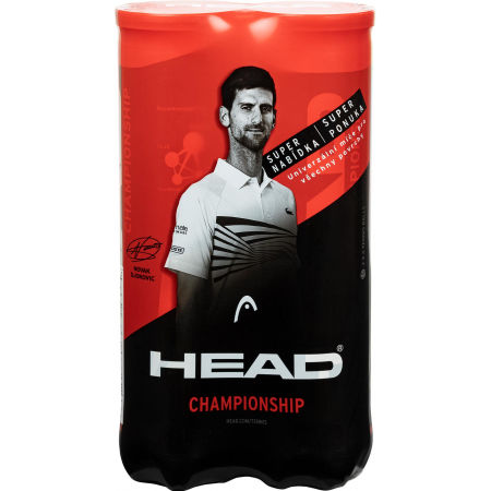 Head BiPack Championship 4ksx2 - Tennisbälle