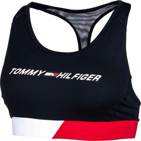 Dámská sportovní podprsenka - Tommy Hilfiger MID INTENSITY CB RACER BRA - 2