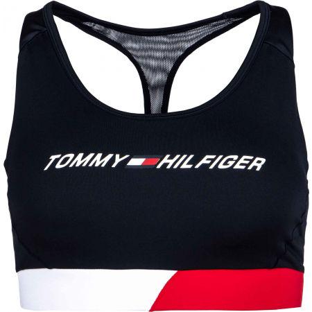 Tommy Hilfiger MID INTENSITY CB RACER BRA - Dámská sportovní podprsenka