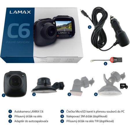 Autokamera - LAMAX C6 - 4