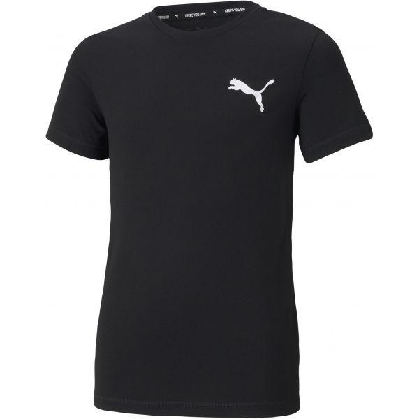 Puma ACTIVE SMALL LOGO TEE - Chlapčenské športové tričko