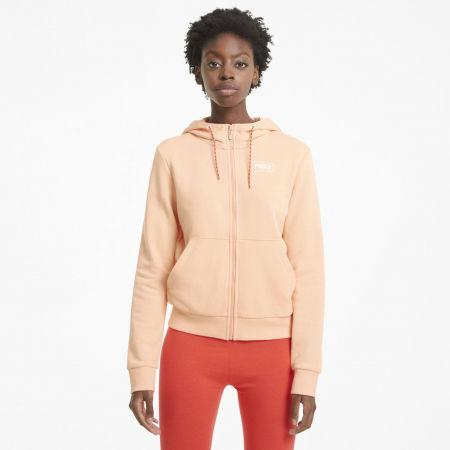 Women's sweatshirt - Puma REBEL FULL-ZIP HOODIE - 3