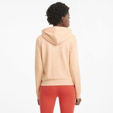 Women's sweatshirt - Puma REBEL FULL-ZIP HOODIE - 4