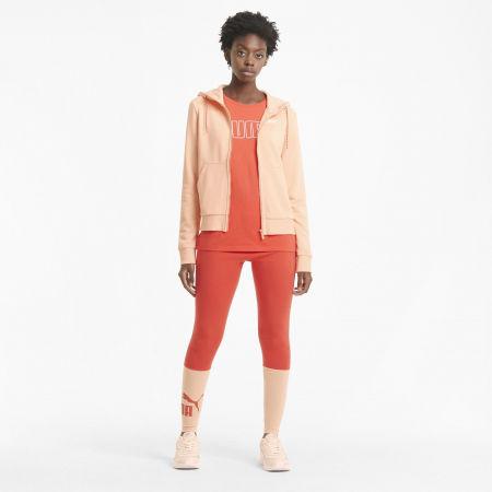 Women's sweatshirt - Puma REBEL FULL-ZIP HOODIE - 5