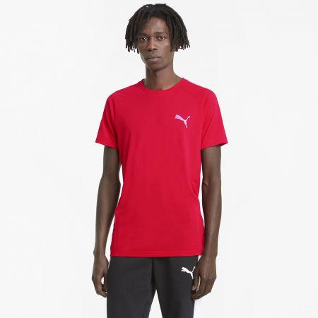 Men's sports T-shirt - Puma EVOSTRIPE TEE - 3