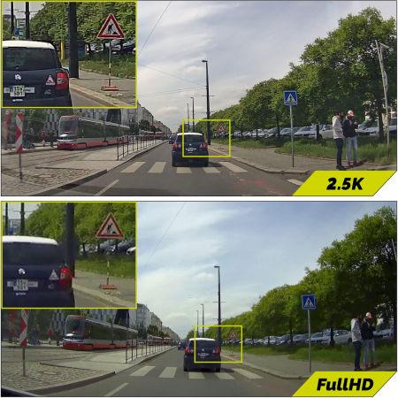Autokamera - TrueCam M9 GPS 2.5K - 12
