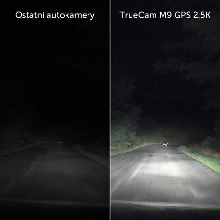 Autokamera - TrueCam M9 GPS 2.5K - 11