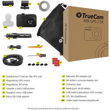 Autokamera - TrueCam M9 GPS 2.5K - 7
