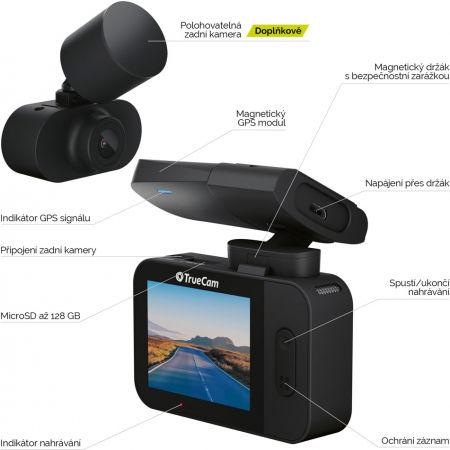 Autokamera - TrueCam M9 GPS 2.5K - 4