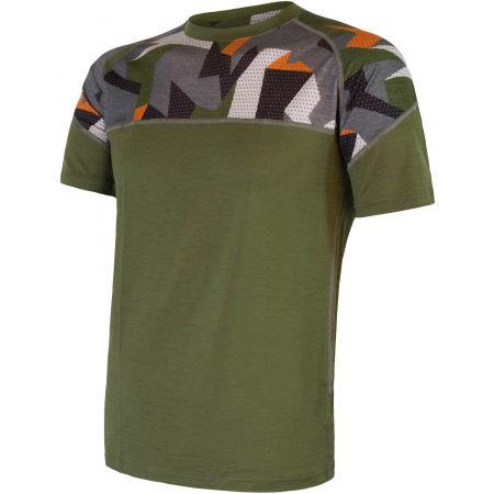 Sensor MERINO IMPRESS KR M - Pánske funkčné tričko